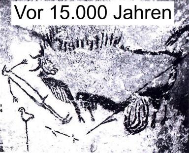 Vogelstab vor 15.000 Jahren